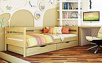 Деревянная детская кровать Нота 80х190 см. Эстелла