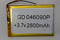 Литиевые аккумуляторы для планшетов  (LI-POL) 046090P 3.7V 2800MAH