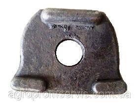 Прижим (клин) колесного диска Н129.00.302 ПРТ, 2ПТС-6,1ПТС-9, фото 2