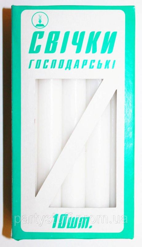 Свечи хозяйственные (10 шт) 50 грамм