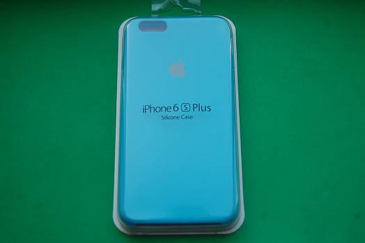 Apple Silicone Case для iPhone 6 Plus / 6S Plus Blue