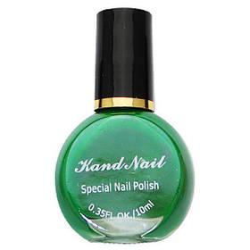 Лак для стемпинга Kand Nail 10 ml зелений