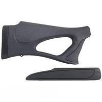 Приклад и цевье ShurShot Stock для ружья Remington 870. Материал - пластик. Цвет - черный.