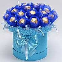 Букет из конфет / букет з цукерок / букет фереро / подарок девушке / подарок на 8 марта / 14 февраля