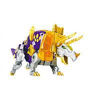 Бластер Динобот-трансформер Трицератопс, Dinobots