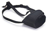 Намордник тканевый для собак Спорт №4 черный, фото 1