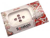 """9080030 Комплект наклеек на лицо или на ногти """"Sonakshi Bindi"""" №75"""