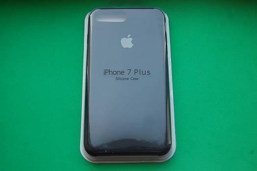 Apple Silicone Case для iPhone 7 Plus / 8 Plus Blue Cobalt