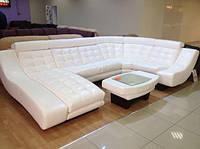 Кожаная мягкая мебель под заказ, фото 1