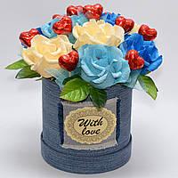 Букет из конфет / букет з цукерок / подарок подруге / подарок девушке / подарок на 8 марта / 14 февраля