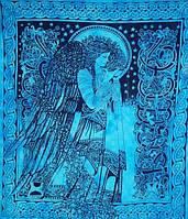 9040362 Покрывало 100% Хлопок Night Queen Голубое