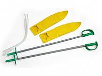 Набор лыжный детский MARMAT 40 см (лыжи +крепление+ палки)