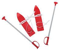 Набір лижний дитячий MARMAT 40 см. (лижі + кріплення+ палки) 7bbf2de7a0696