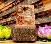 9140040 Водопад полистоун Будда