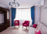 Текстильное оформление квартиры в стиле Лофт 4