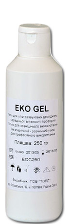 """Гель для УЗИ """"ECO GEL"""", Украина (250 г)"""