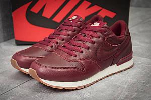 Кроссовки мужские Nike  MD Runner, бордовые (11791) размеры в наличии ► [  43 (последняя пара)  ]