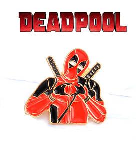 Значок pin Дэдпул Deadpool Marvel
