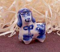 9380378 Фигурка керамическая Собака Пудель