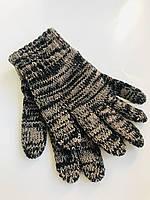 Теплые Перчатки Для Мальчиков CYRRUS Margot, Польша 5-8 лет. Стильное Сочетание Вязки Двух Нитей!