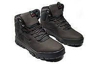 Зимние ботинки (на меху) мужские Nike Air Lunarridge 1-021 (реплика)