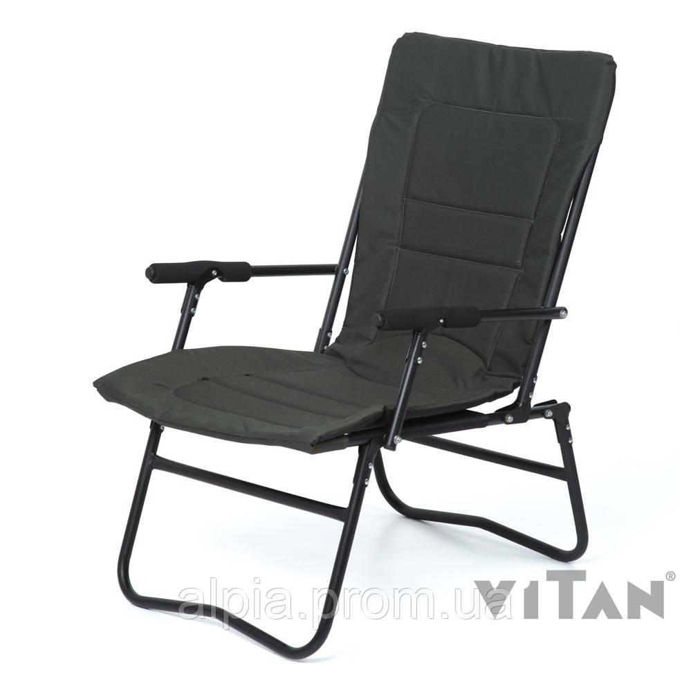 "Кресло Vitan ""Белый Амур"" (темно-зеленый Меланж)"