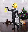 Красивый детский карнавальный костюм Супер кот (8-12), фото 4