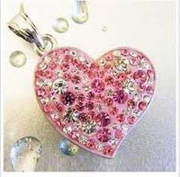 Красивая флешка на 16 гб в виде серца, фото 1