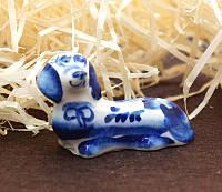 9380382 Фигурка керамическая Собака нова Такса