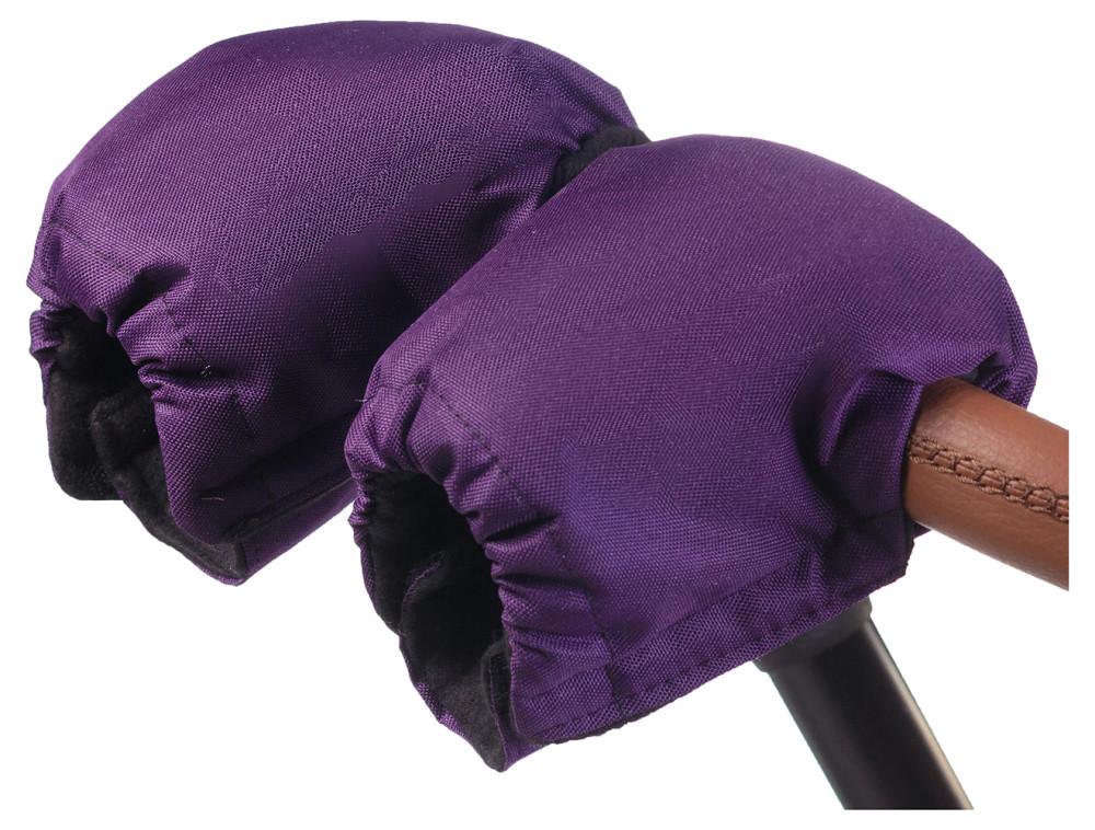 Рукавицы Babyroom на коляску  фиолетовый