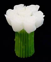"""9060101 Свеча """"Букет Роз"""" белый"""