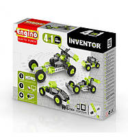Конструктор Автомобили, 4 модели, серия Inventor, Engino