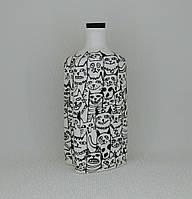 """Графин декоративный """"Черные кошки"""" 0,3 л. Фарфор, фото 1"""