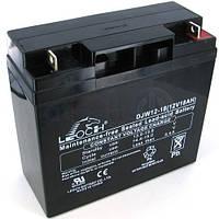 Аккумулятор АКБ 12 В, 18 А  для охранных и пожарных сигнализаций