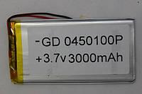 Литиевые аккумуляторы для планшетов (LI-POL) 0450100P 3.7V 3000MAH