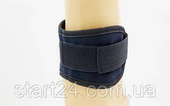 Манжет (ремень) для силовой тяги на голень и запястье TA-5169 Ankle Strap (нейлон, металл, l-48см), фото 2