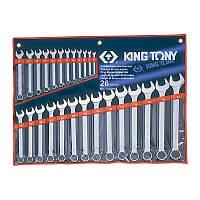 Ключи комбинированные 6-32 мм - King Tony 1226MR