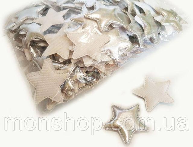 Звезда серебро 5,0 см