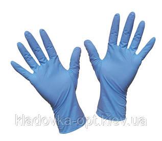 Перчатки одноразовые латекс 100 шт S