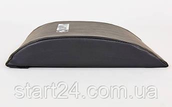 Мат для пресса AB MAT (Абмат) FI-7223 AB MAT (PVC, EVA, р-р 38x30x7см, черный), фото 2
