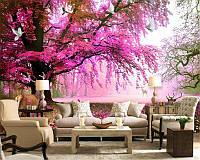 """Флизелиновые фотообои """"Цветущее дерево"""""""