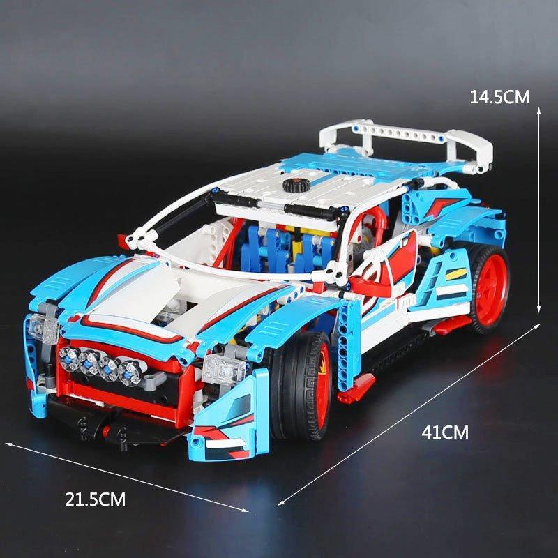 Конструктор Lepin 20077 Technic Ралли Автомобиль 1085 деталей