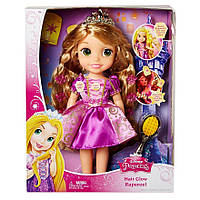 Принцесса Рапунцель со светящимися волосами, 38 см - Hair Glow Rapunzel, Disney, Jakks Pacific