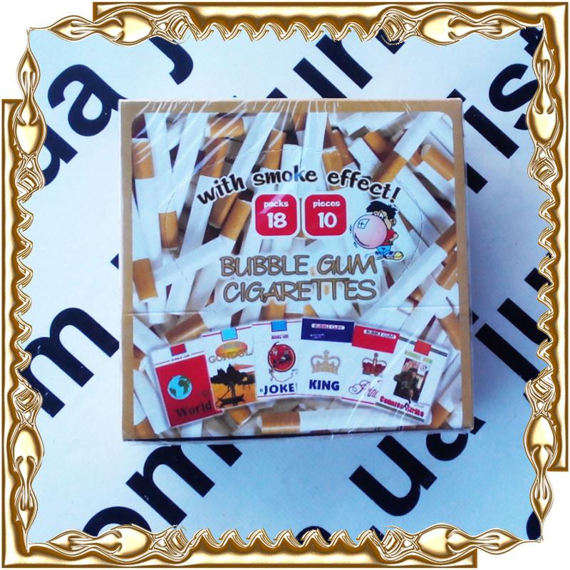 Жувальна гумка Joker Bubble Gum Cigarettes (сигарети з ефект. диму) 35 гр. 18 шт/уп.