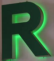 Изготовление объёмных световых букв