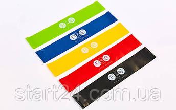 Набор резинок для фитнеса (лента сопротивления)  LOOP BANDS F&S, фото 2