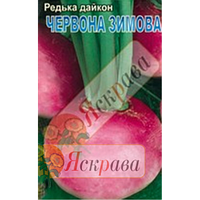 Дайкон круглий Червоний 2г