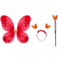 Набор Бабочка детский для праздника  (набор 3 предм)