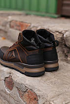 Мужские зимние кожаные ботинки/кроссовки Reebok.Купить в Украине!, фото 3