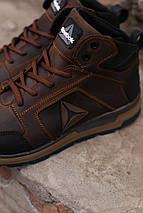 Мужские зимние кожаные ботинки/кроссовки Reebok.Купить в Украине!, фото 2